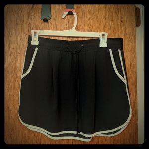 Track style mini skirt